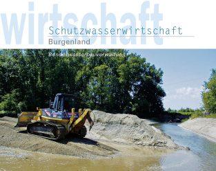 Broschüre 'Jahresbericht Schutzwasserwirtschaft Burgenland'