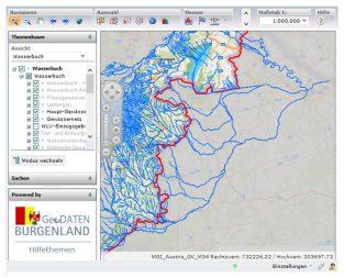 WIS – Wasserinformationssystem Burgenland