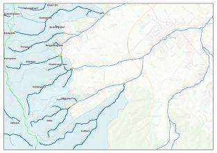 Wildbach- und Lawinenverbauung Einzugsgebiete (WLV)