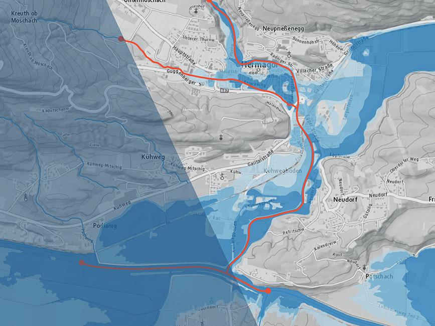 Hochwasser-Risiko-Managementpläne (RMP)