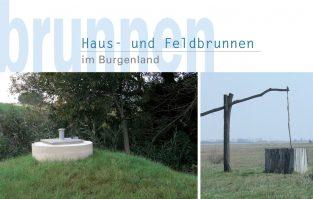 Broschüre 'Hausbrunnen Burgenland'