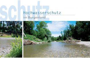 Broschüre 'Hochwasserschutz im Burgenland'